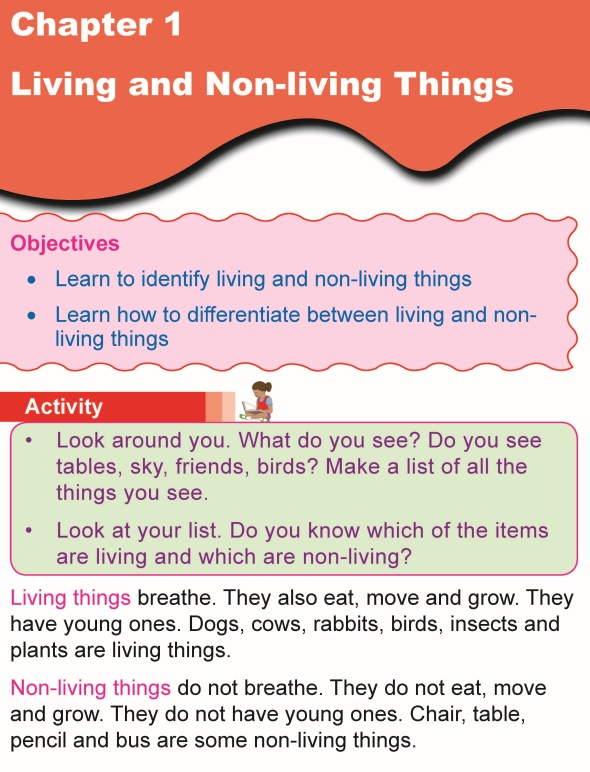 Grade 1 Science Lesson 1 Living and Non-Living Things