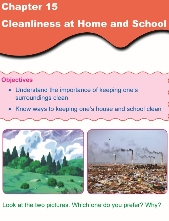Grade 1 Science Lesson 15 Cleanliness at Home and School